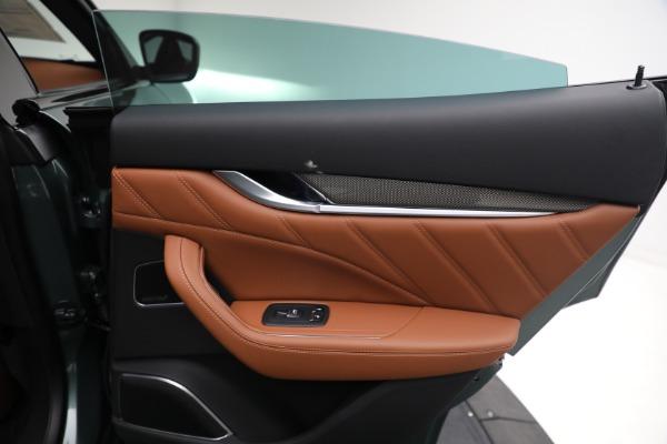 New 2021 Maserati Levante S GranSport for sale $112,899 at Bugatti of Greenwich in Greenwich CT 06830 24