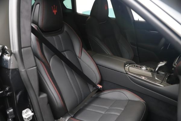 New 2021 Maserati Levante S GranSport for sale $105,799 at Bugatti of Greenwich in Greenwich CT 06830 19