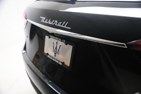 New 2021 Maserati Levante S GranSport for sale $105,799 at Bugatti of Greenwich in Greenwich CT 06830 22