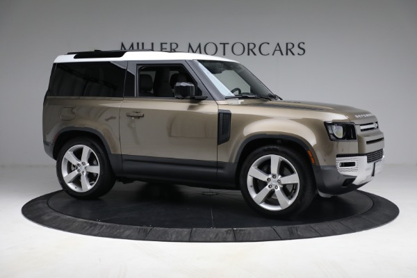 Used 2021 Land Rover Defender 90 First Edition for sale $69,900 at Bugatti of Greenwich in Greenwich CT 06830 10