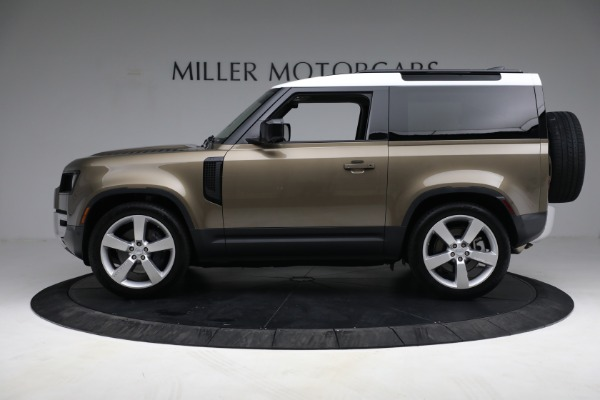 Used 2021 Land Rover Defender 90 First Edition for sale $69,900 at Bugatti of Greenwich in Greenwich CT 06830 13