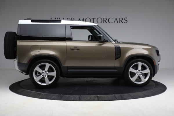 Used 2021 Land Rover Defender 90 First Edition for sale $69,900 at Bugatti of Greenwich in Greenwich CT 06830 14