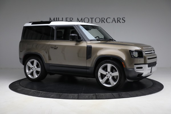 Used 2021 Land Rover Defender 90 First Edition for sale $69,900 at Bugatti of Greenwich in Greenwich CT 06830 15
