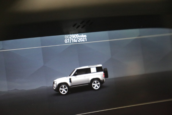 Used 2021 Land Rover Defender 90 First Edition for sale $69,900 at Bugatti of Greenwich in Greenwich CT 06830 24