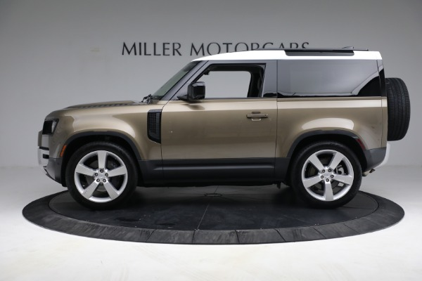 Used 2021 Land Rover Defender 90 First Edition for sale $69,900 at Bugatti of Greenwich in Greenwich CT 06830 3