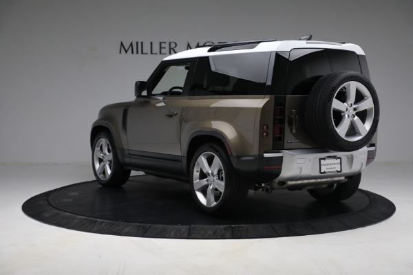 Used 2021 Land Rover Defender 90 First Edition for sale $69,900 at Bugatti of Greenwich in Greenwich CT 06830 5