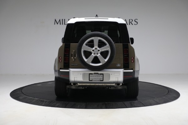 Used 2021 Land Rover Defender 90 First Edition for sale $69,900 at Bugatti of Greenwich in Greenwich CT 06830 6