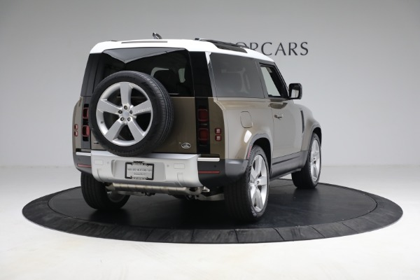 Used 2021 Land Rover Defender 90 First Edition for sale $69,900 at Bugatti of Greenwich in Greenwich CT 06830 7