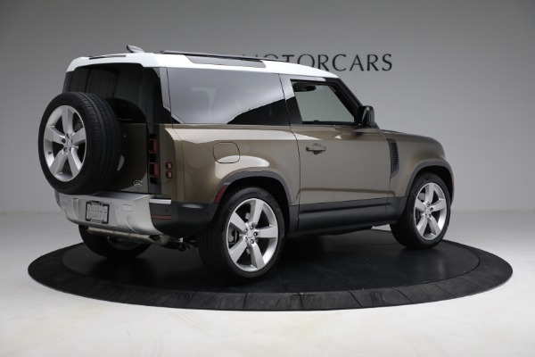 Used 2021 Land Rover Defender 90 First Edition for sale $69,900 at Bugatti of Greenwich in Greenwich CT 06830 8
