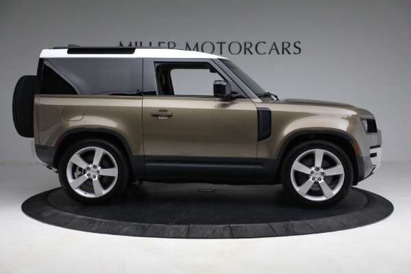 Used 2021 Land Rover Defender 90 First Edition for sale $69,900 at Bugatti of Greenwich in Greenwich CT 06830 9
