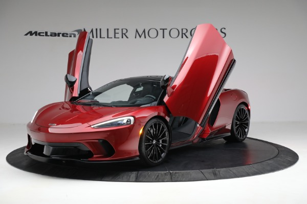 New 2021 McLaren GT Luxe for sale $217,275 at Bugatti of Greenwich in Greenwich CT 06830 13