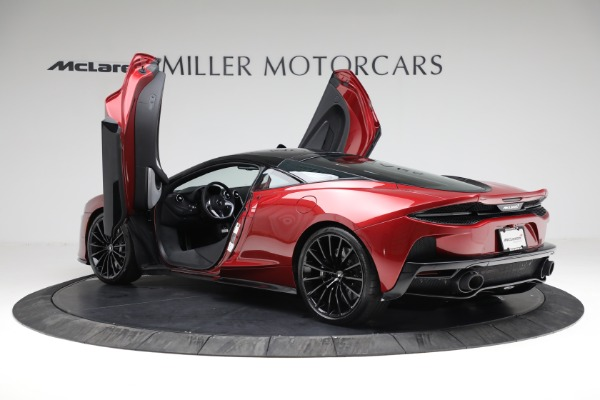 New 2021 McLaren GT Luxe for sale $217,275 at Bugatti of Greenwich in Greenwich CT 06830 15