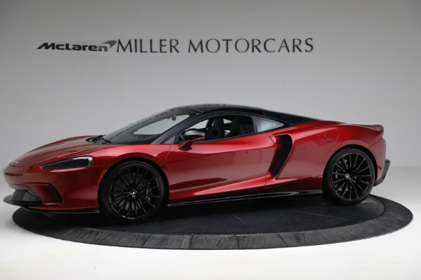 New 2021 McLaren GT Luxe for sale $217,275 at Bugatti of Greenwich in Greenwich CT 06830 2
