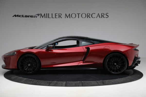 New 2021 McLaren GT Luxe for sale $217,275 at Bugatti of Greenwich in Greenwich CT 06830 3