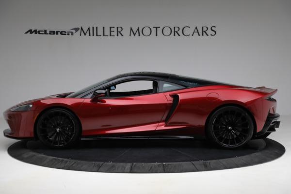 New 2021 McLaren GT for sale $217,275 at Bugatti of Greenwich in Greenwich CT 06830 3