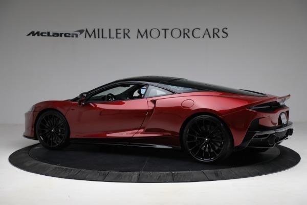 New 2021 McLaren GT for sale $217,275 at Bugatti of Greenwich in Greenwich CT 06830 4