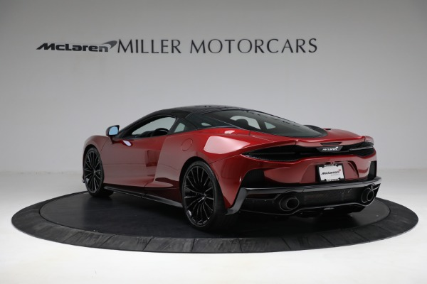 New 2021 McLaren GT Luxe for sale $217,275 at Bugatti of Greenwich in Greenwich CT 06830 5