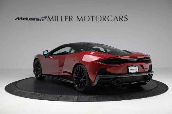 New 2021 McLaren GT for sale $217,275 at Bugatti of Greenwich in Greenwich CT 06830 5