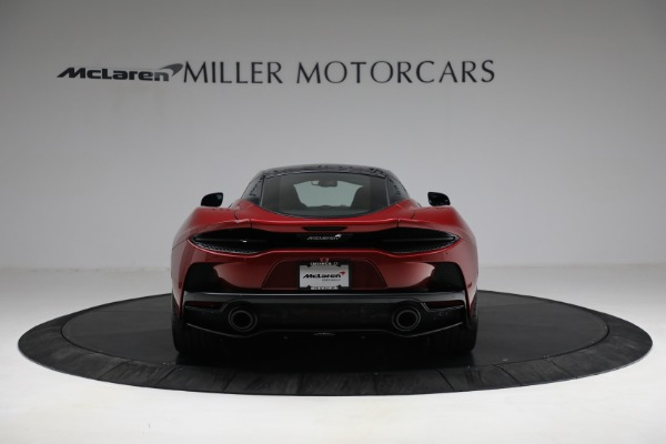 New 2021 McLaren GT Luxe for sale $217,275 at Bugatti of Greenwich in Greenwich CT 06830 6