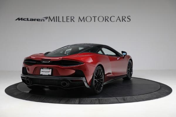 New 2021 McLaren GT for sale $217,275 at Bugatti of Greenwich in Greenwich CT 06830 7