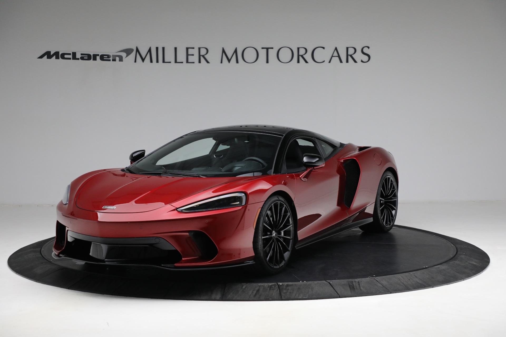 New 2021 McLaren GT for sale $217,275 at Bugatti of Greenwich in Greenwich CT 06830 1