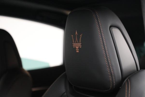 New 2021 Maserati Levante S GranSport for sale $105,849 at Bugatti of Greenwich in Greenwich CT 06830 20