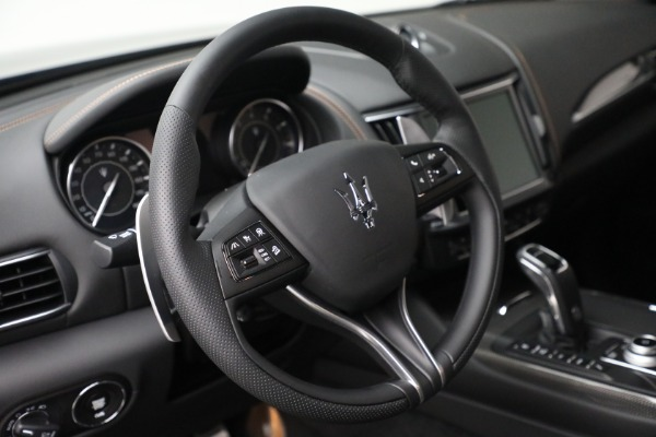 New 2021 Maserati Levante S GranSport for sale $105,849 at Bugatti of Greenwich in Greenwich CT 06830 21