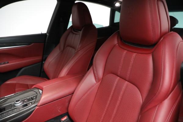 Used 2018 Maserati Levante GranSport for sale Call for price at Bugatti of Greenwich in Greenwich CT 06830 10
