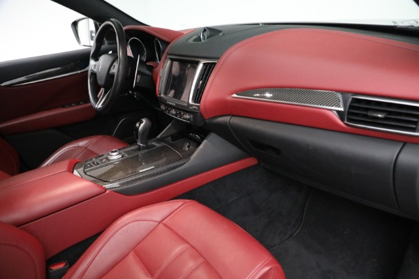 Used 2018 Maserati Levante GranSport for sale Call for price at Bugatti of Greenwich in Greenwich CT 06830 12