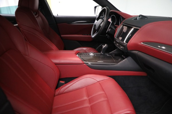 Used 2018 Maserati Levante GranSport for sale Call for price at Bugatti of Greenwich in Greenwich CT 06830 13