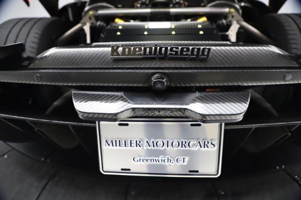 Used 2019 Koenigsegg Regera for sale Call for price at Bugatti of Greenwich in Greenwich CT 06830 23