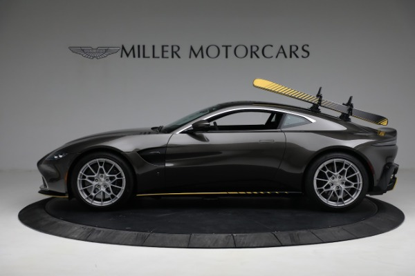 Used 2021 Aston Martin Vantage 007 Bond Edition for sale Sold at Bugatti of Greenwich in Greenwich CT 06830 2