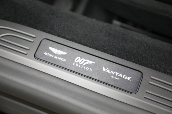Used 2021 Aston Martin Vantage 007 Bond Edition for sale Sold at Bugatti of Greenwich in Greenwich CT 06830 27