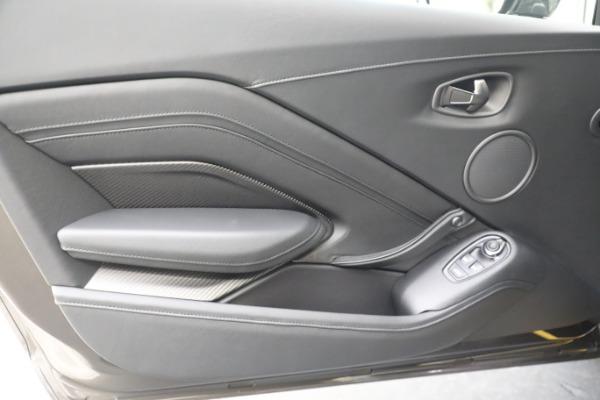 Used 2021 Aston Martin Vantage 007 Bond Edition for sale Sold at Bugatti of Greenwich in Greenwich CT 06830 28