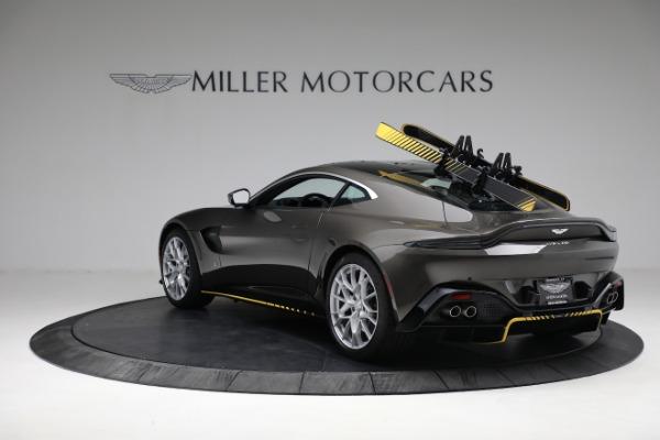 Used 2021 Aston Martin Vantage 007 Bond Edition for sale Sold at Bugatti of Greenwich in Greenwich CT 06830 4