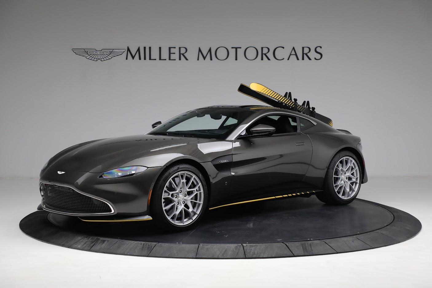 Used 2021 Aston Martin Vantage 007 Bond Edition for sale Sold at Bugatti of Greenwich in Greenwich CT 06830 1