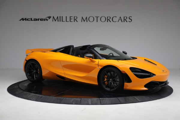 New 2021 McLaren 720S Spider for sale $378,110 at Bugatti of Greenwich in Greenwich CT 06830 10