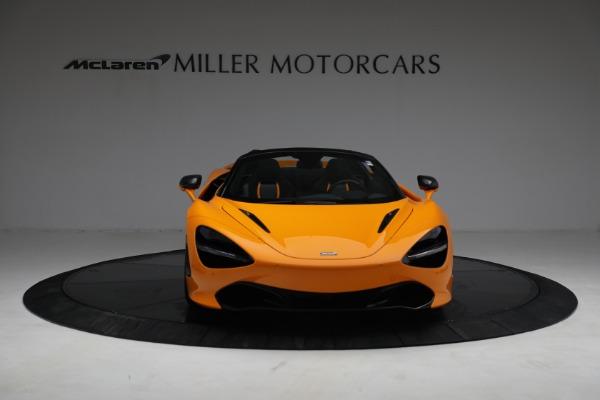 New 2021 McLaren 720S Spider for sale $378,110 at Bugatti of Greenwich in Greenwich CT 06830 12