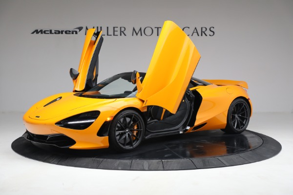 New 2021 McLaren 720S Spider for sale $378,110 at Bugatti of Greenwich in Greenwich CT 06830 14