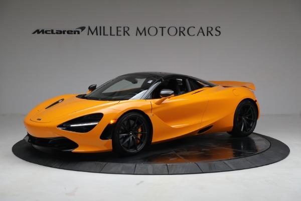 New 2021 McLaren 720S Spider for sale $378,110 at Bugatti of Greenwich in Greenwich CT 06830 15