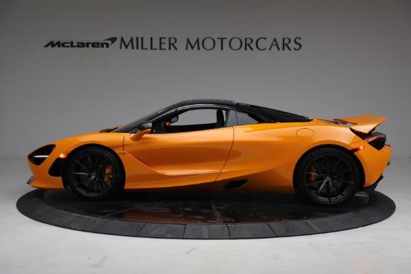 New 2021 McLaren 720S Spider for sale $378,110 at Bugatti of Greenwich in Greenwich CT 06830 16