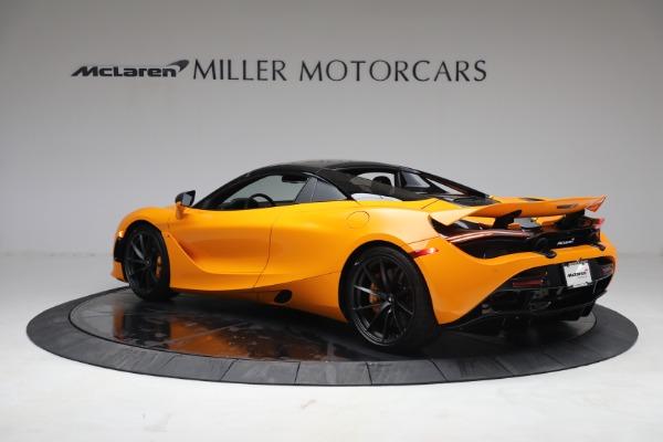New 2021 McLaren 720S Spider for sale $378,110 at Bugatti of Greenwich in Greenwich CT 06830 17