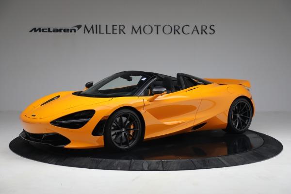New 2021 McLaren 720S Spider for sale $378,110 at Bugatti of Greenwich in Greenwich CT 06830 2