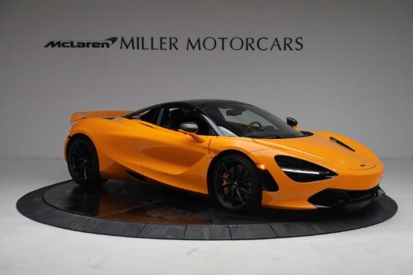 New 2021 McLaren 720S Spider for sale $378,110 at Bugatti of Greenwich in Greenwich CT 06830 21