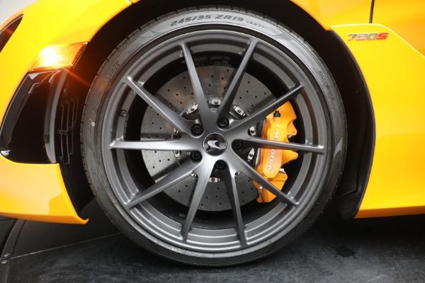 New 2021 McLaren 720S Spider for sale $378,110 at Bugatti of Greenwich in Greenwich CT 06830 23