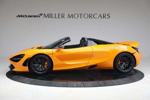 New 2021 McLaren 720S Spider for sale $378,110 at Bugatti of Greenwich in Greenwich CT 06830 3