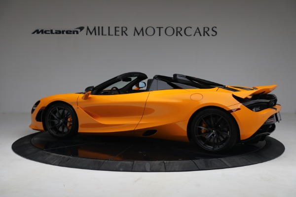 New 2021 McLaren 720S Spider for sale $378,110 at Bugatti of Greenwich in Greenwich CT 06830 4