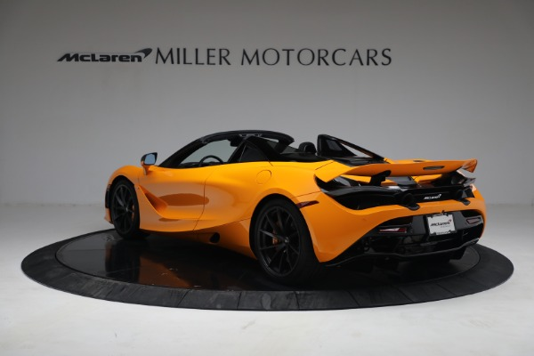 New 2021 McLaren 720S Spider for sale $378,110 at Bugatti of Greenwich in Greenwich CT 06830 5