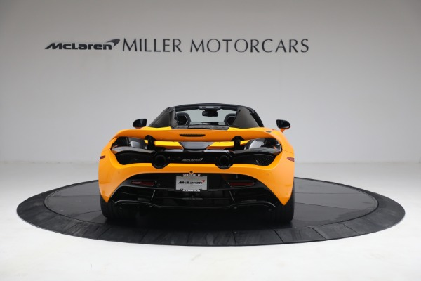 New 2021 McLaren 720S Spider for sale $378,110 at Bugatti of Greenwich in Greenwich CT 06830 6
