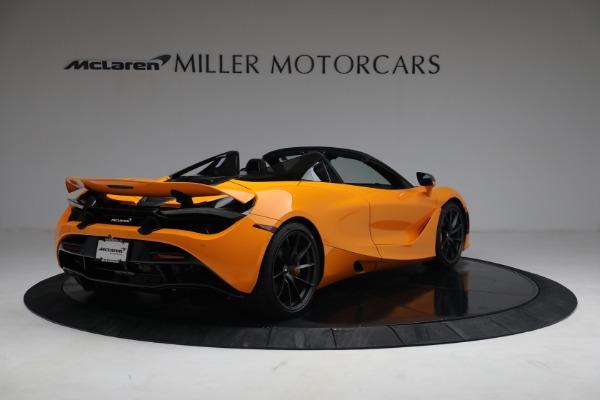 New 2021 McLaren 720S Spider for sale $378,110 at Bugatti of Greenwich in Greenwich CT 06830 7